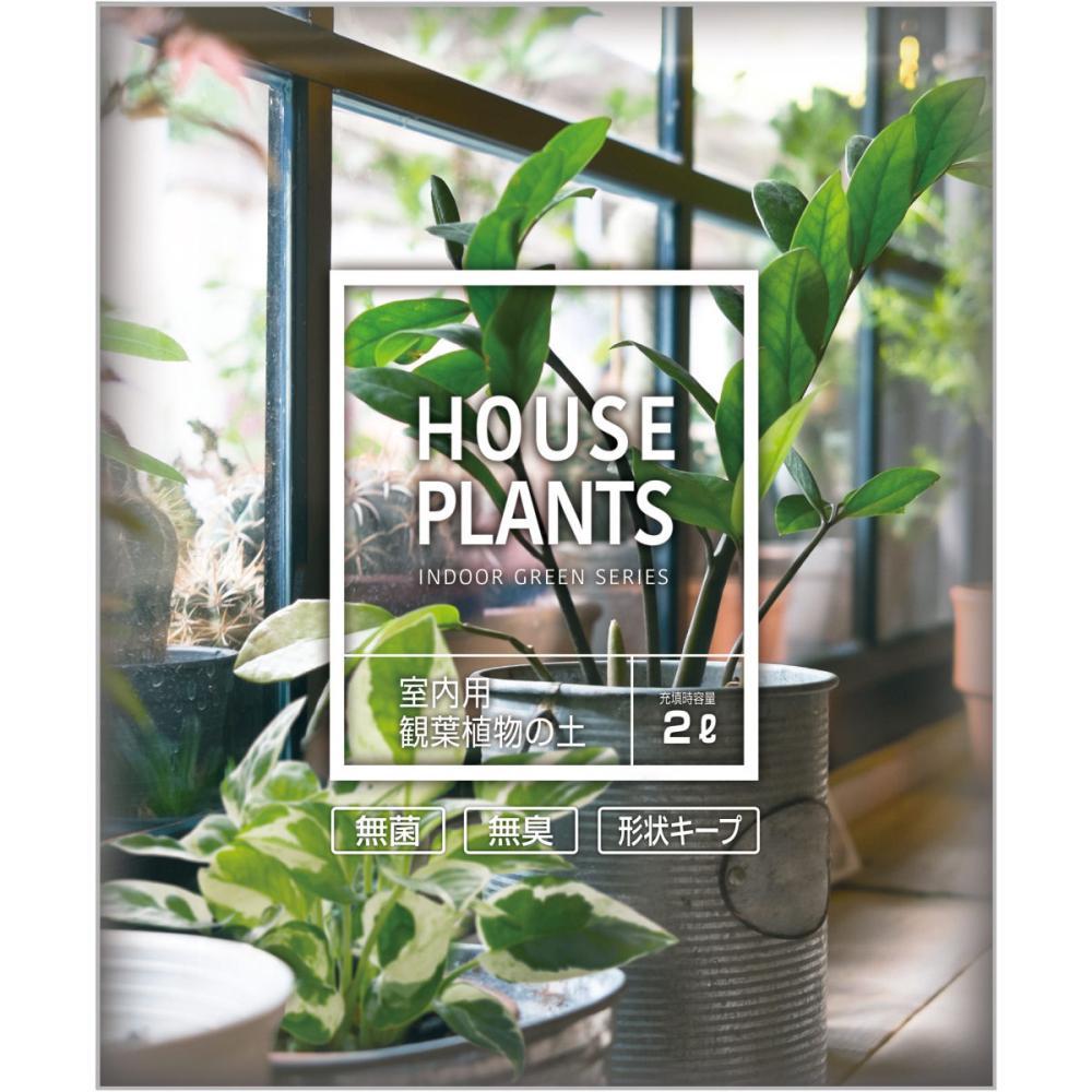 室内用観葉植物の土