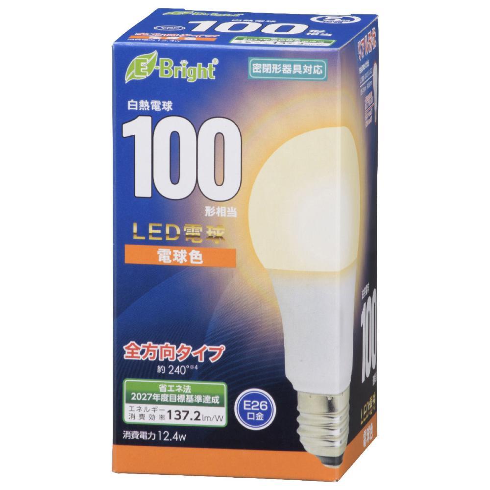 オーム電機 LED電球 E26 100形相当 各種