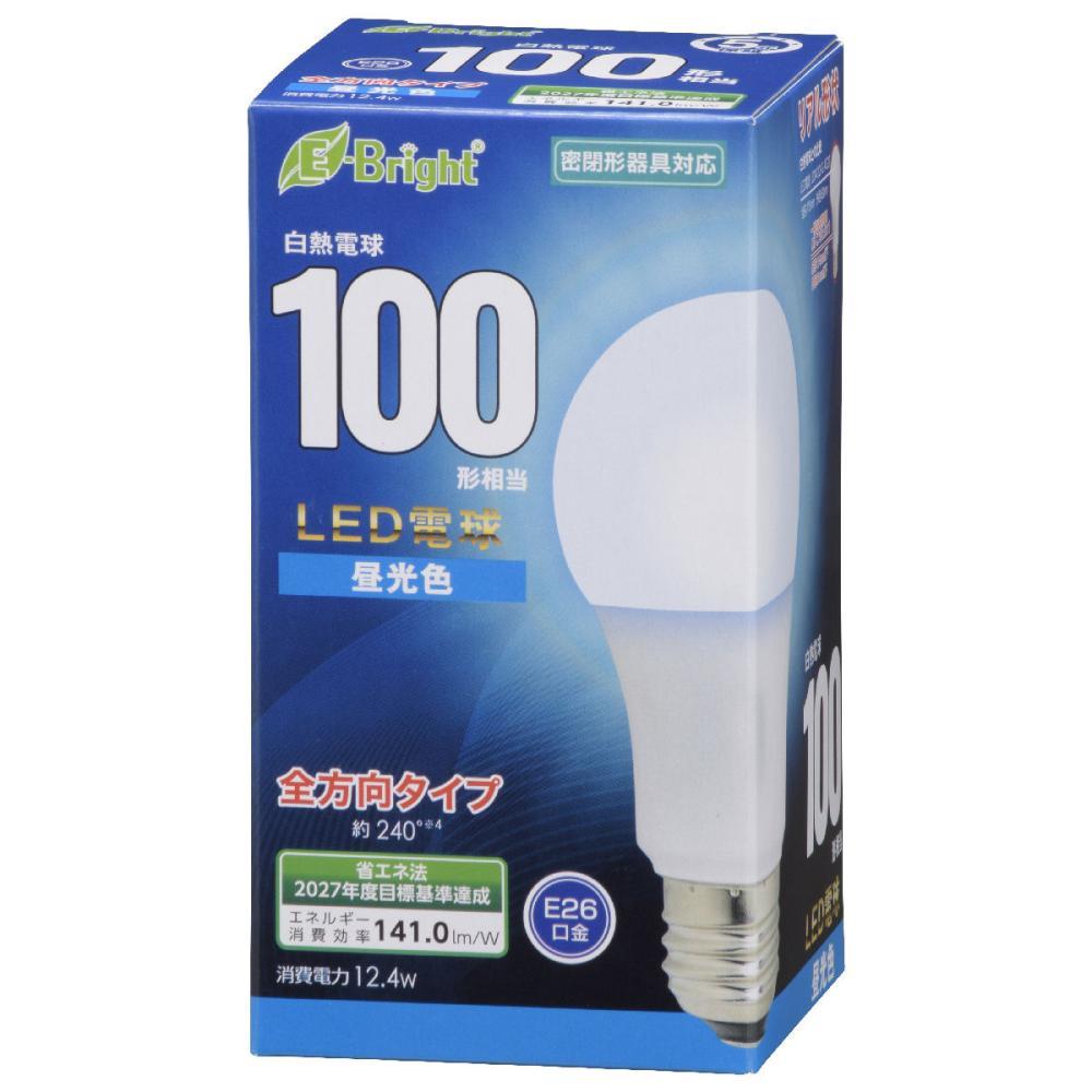 オーム電機 LED電球 E26 100形相当 昼光色 LDA12D-G AG27