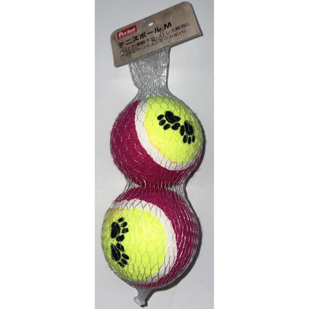 Petami ペット玩具 テニスボール Mサイズ 2個セット