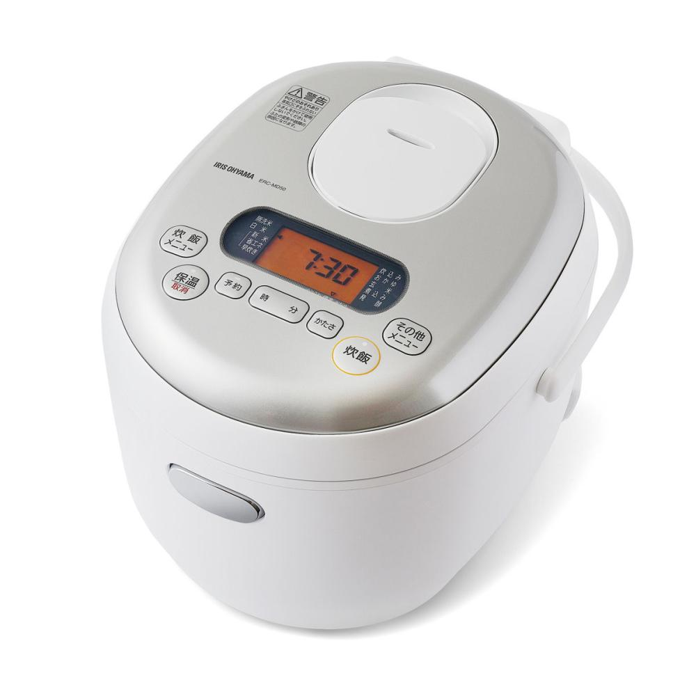 アイリスオーヤマ ジャー炊飯器 5.5合 ホワイト ERC-MD50-W
