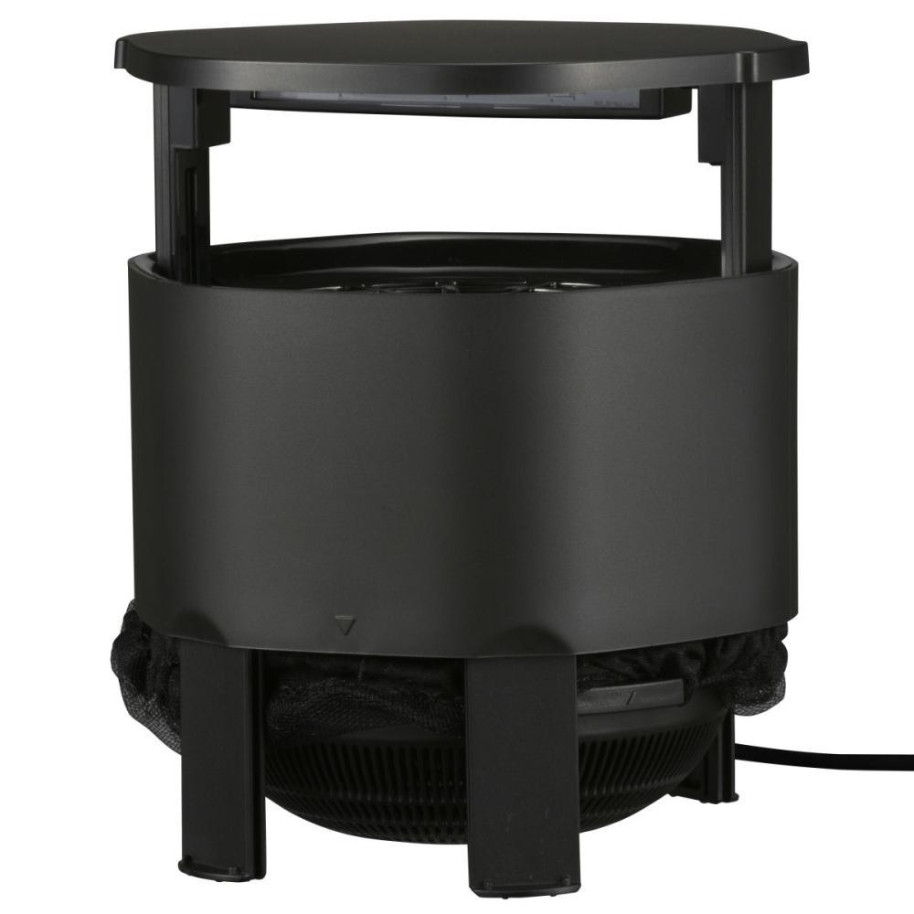 オーム電機 UV LED捕虫器(DC2W) 屋内用 ブラック MUS-SPDC2