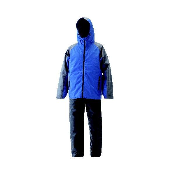 全方向反射防水防寒スーツ ブルー L
