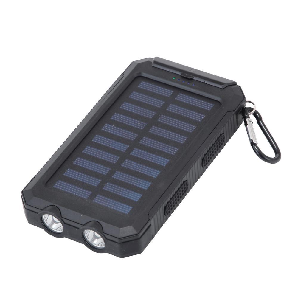 ソーラーモバイルバッテリー1面 8000mAh HD