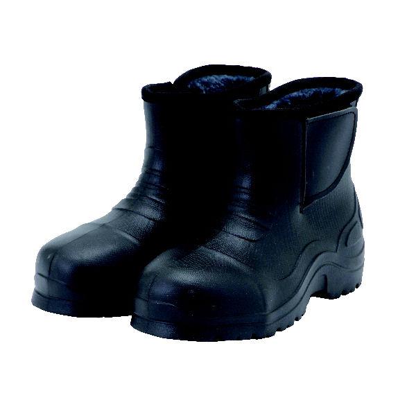 コメリ かるい防寒防水 先芯ブーツ ブラック L(25.5~26.0cm)