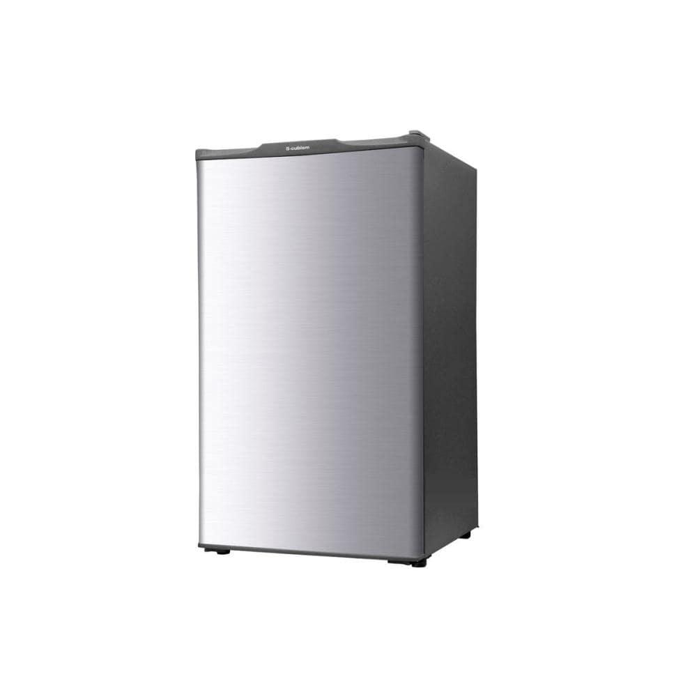 エスキュービズム 1ドア冷凍庫 60L シルバー WFR-1060SL