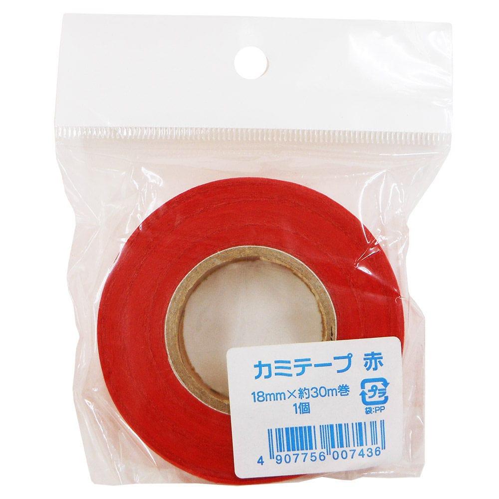 エヒメ紙工 紙テープ 幅18mm×30m巻 各色