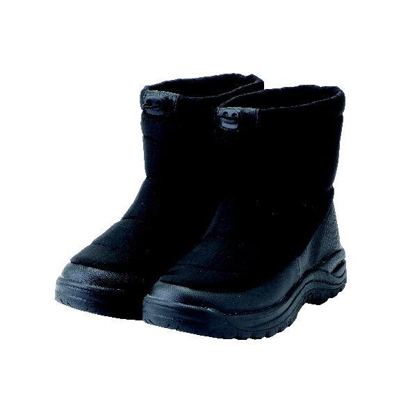 コメリ 紳士 防寒ウィンターブーツ ブラック L(25.5~26.0cm)