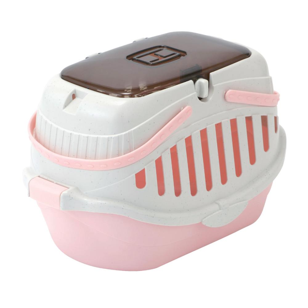 Petami お出かけハードキャリー 超小型犬・猫用 PB01 ピンク