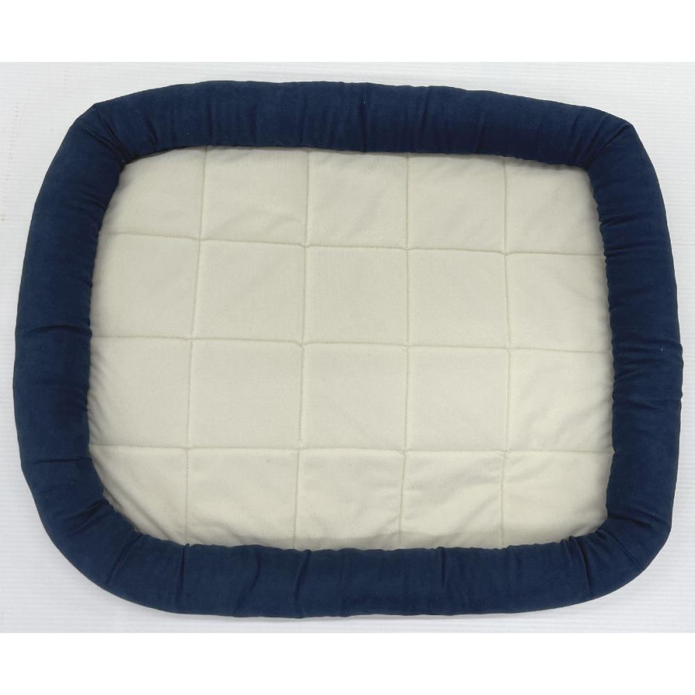Petami ペットベッド あごのせタイプ ブルー Sサイズ