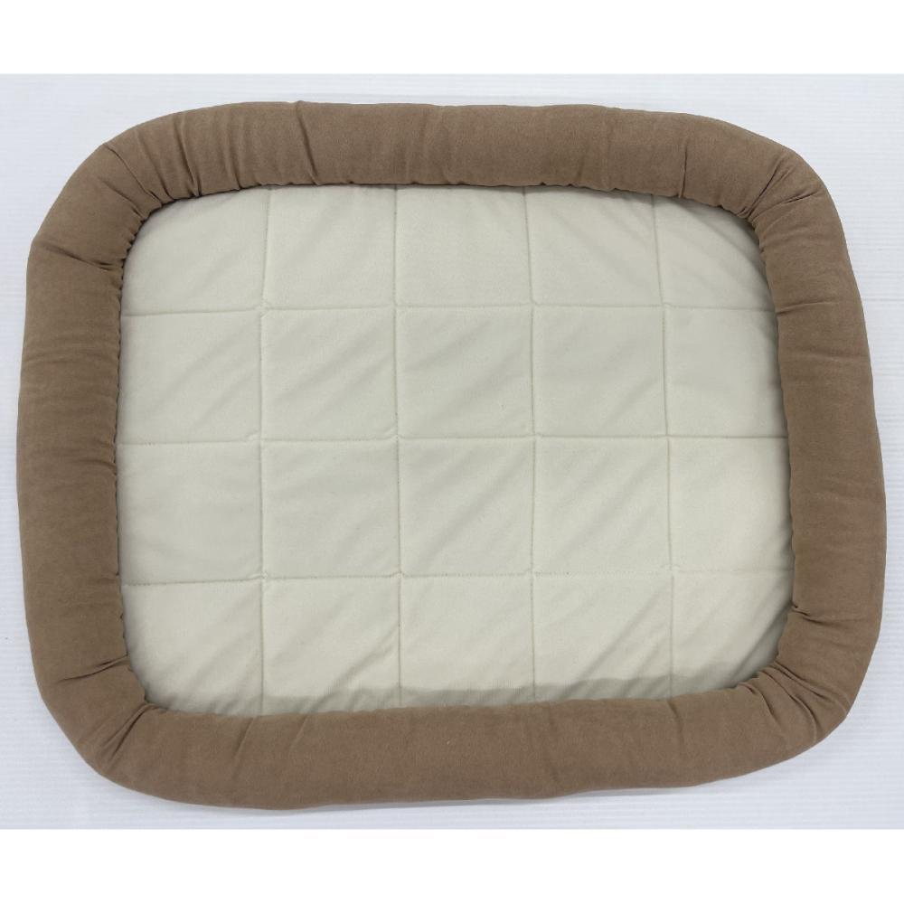 Petami ペットベッド あごのせタイプ ブラウン Sサイズ