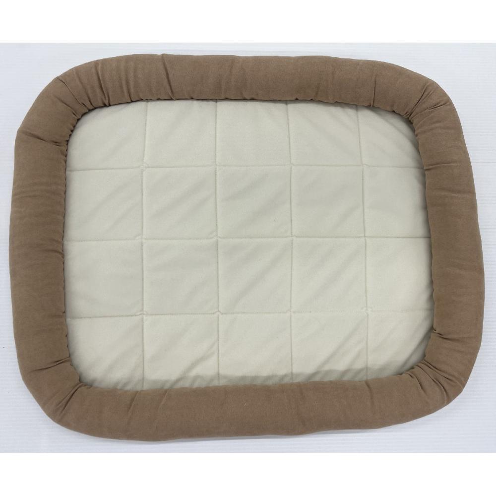 Petami ペットベッド あごのせタイプ ブラウン Mサイズ