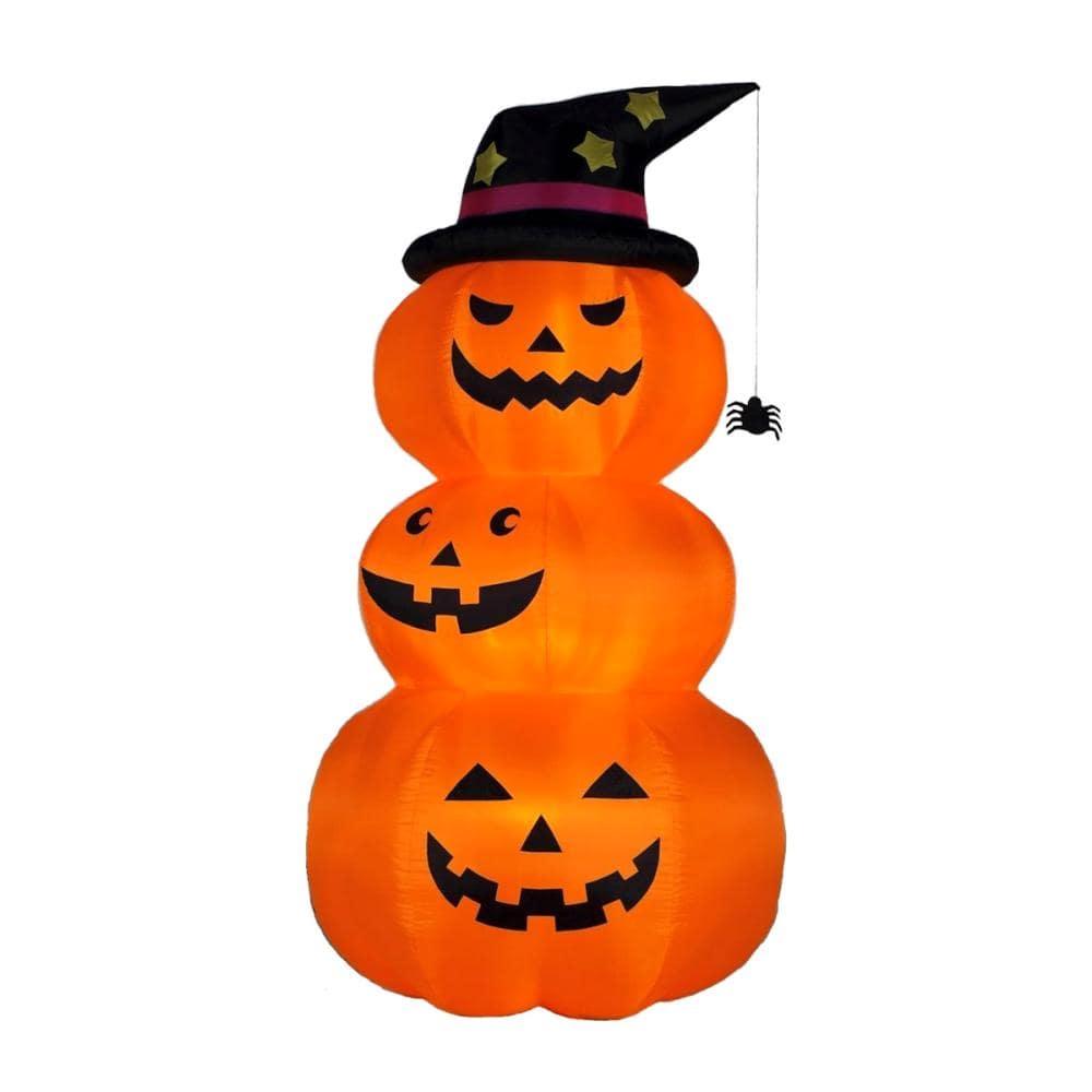 友愛玩具 エアーディスプレイ 3連オレンジパンプキン Lサイズ
