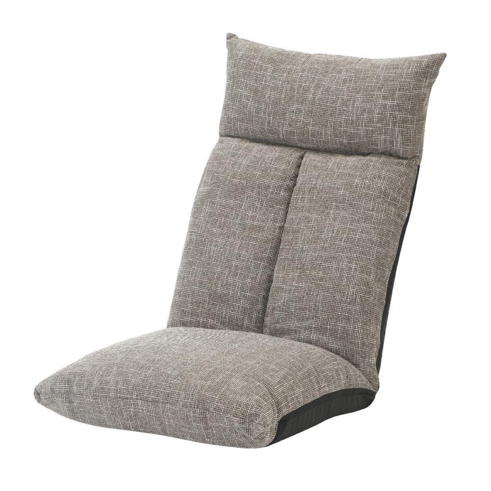 アテーナライフ 頭を支える低反発ハイバック座椅子 ブラウン
