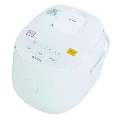山善 糖質カットマイコン炊飯器 3合炊き ホワイト YJF-M30CC(W)
