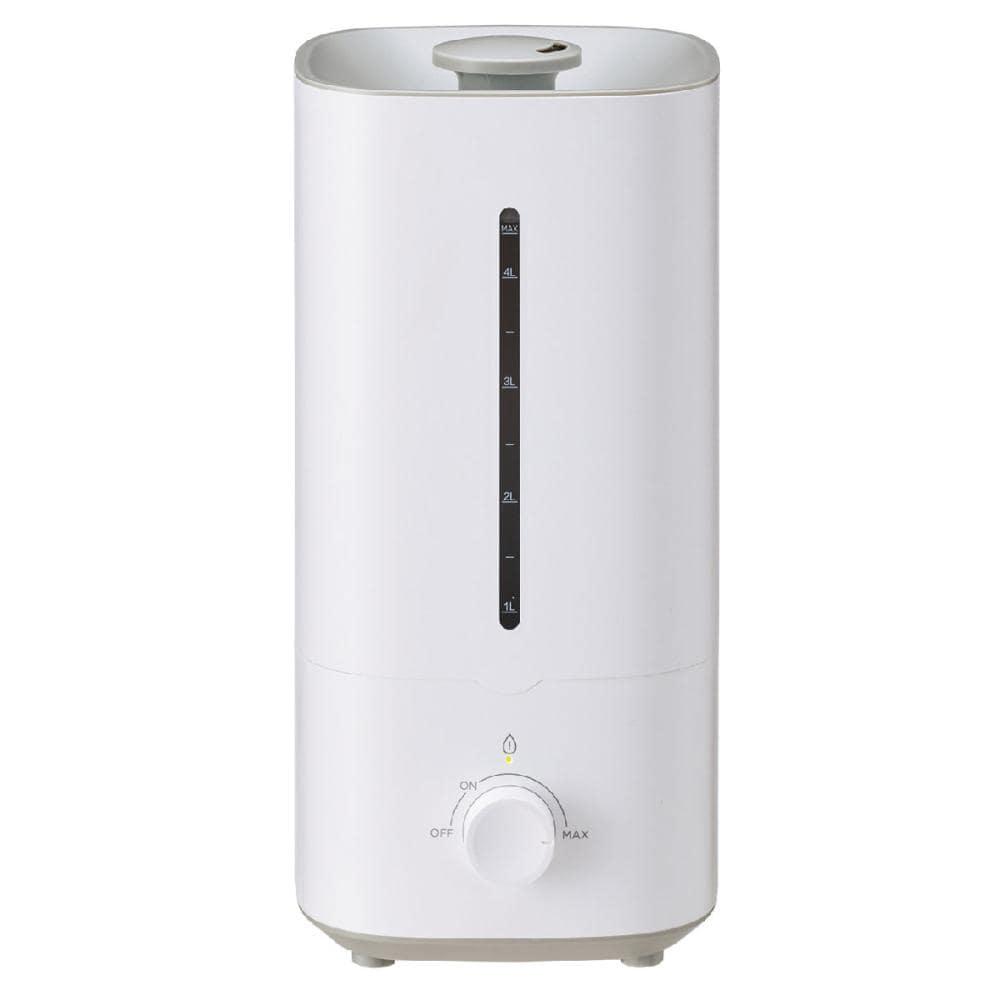 超音波式加湿器 5畳用 タンク4.5L ホワイト KHB-45(W)