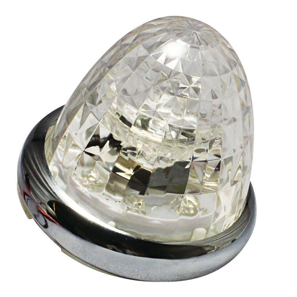 槌屋ヤック 超流星マーカー ホワイト 12/24V CE-167