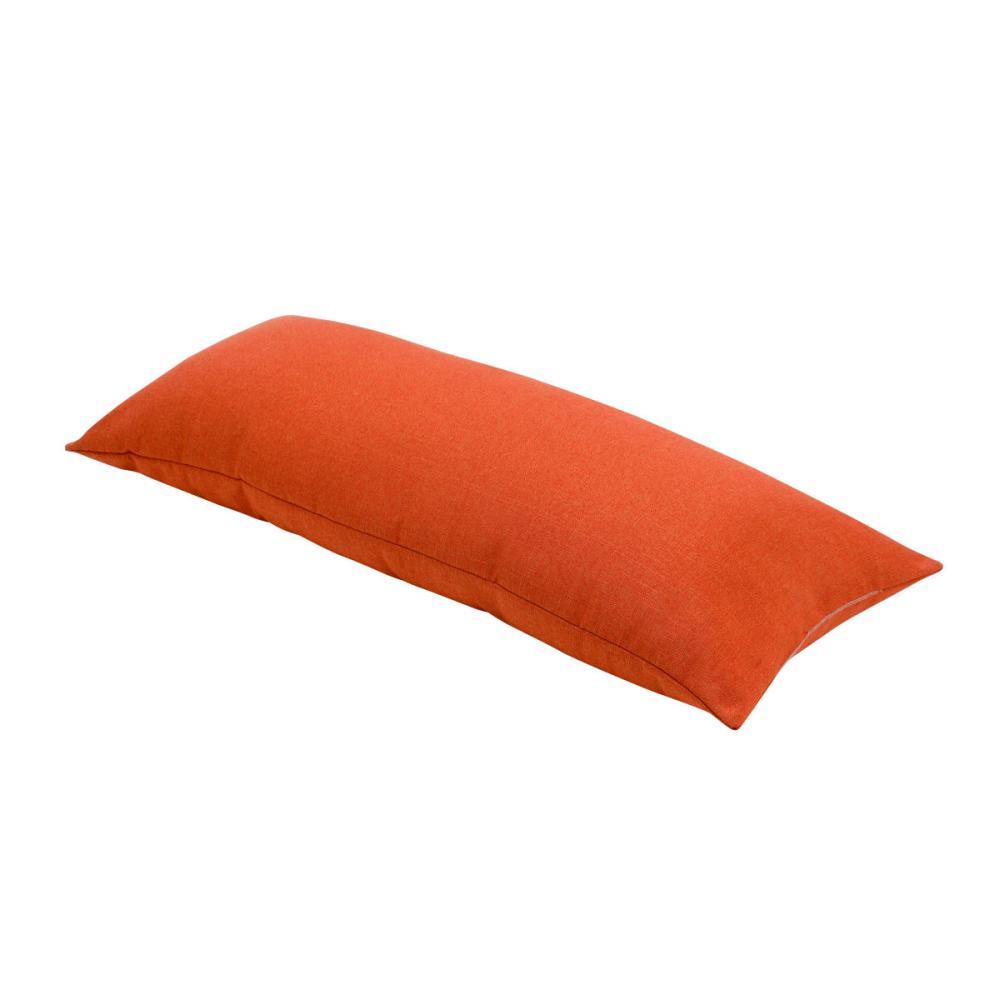 アテーナライフ ロングチューブクッション オレンジ 100cm