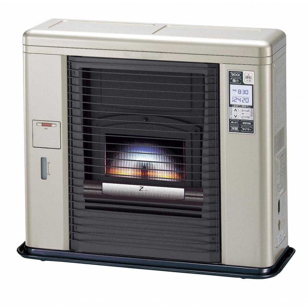 サンポット 床暖FF式スト-ブ ゼ-タスイング 木造18畳 ク-ルトップ シェルブロンド UFH-703SX T