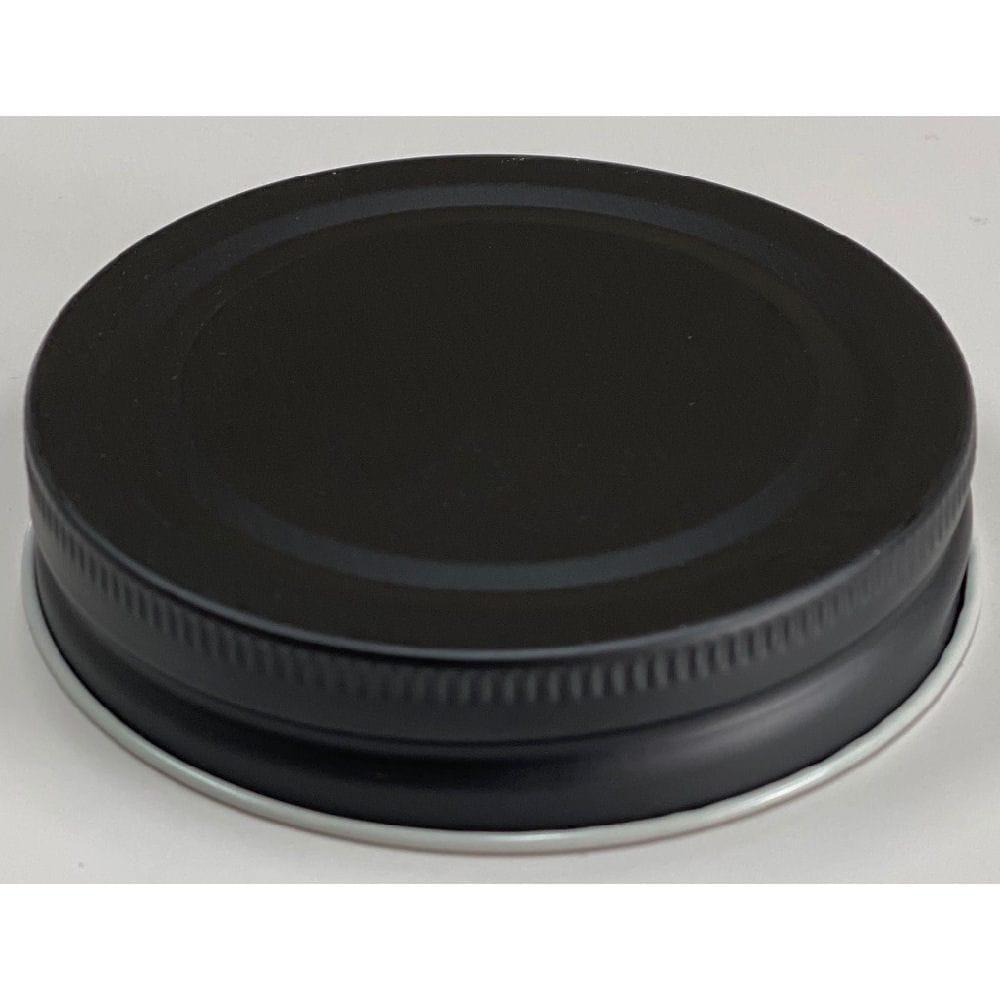 保存ビン ふた 黒 70mm