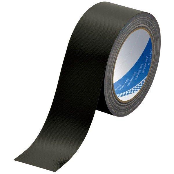 寺岡 カラー布粘着テープ 黒 50mmX25m NO.1535
