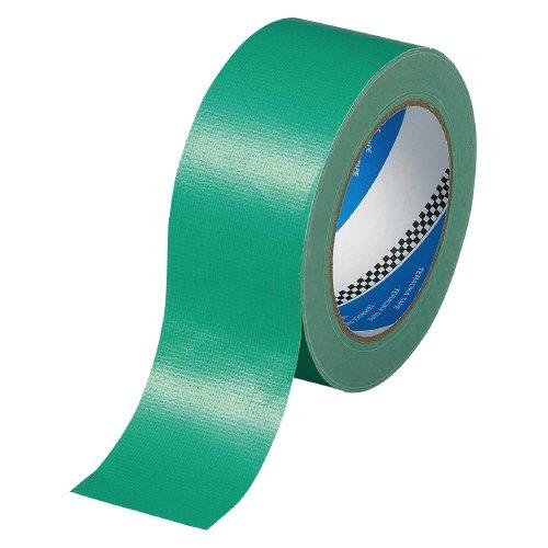 寺岡 カラー布粘着テープ 緑 50mmX25m NO.1535