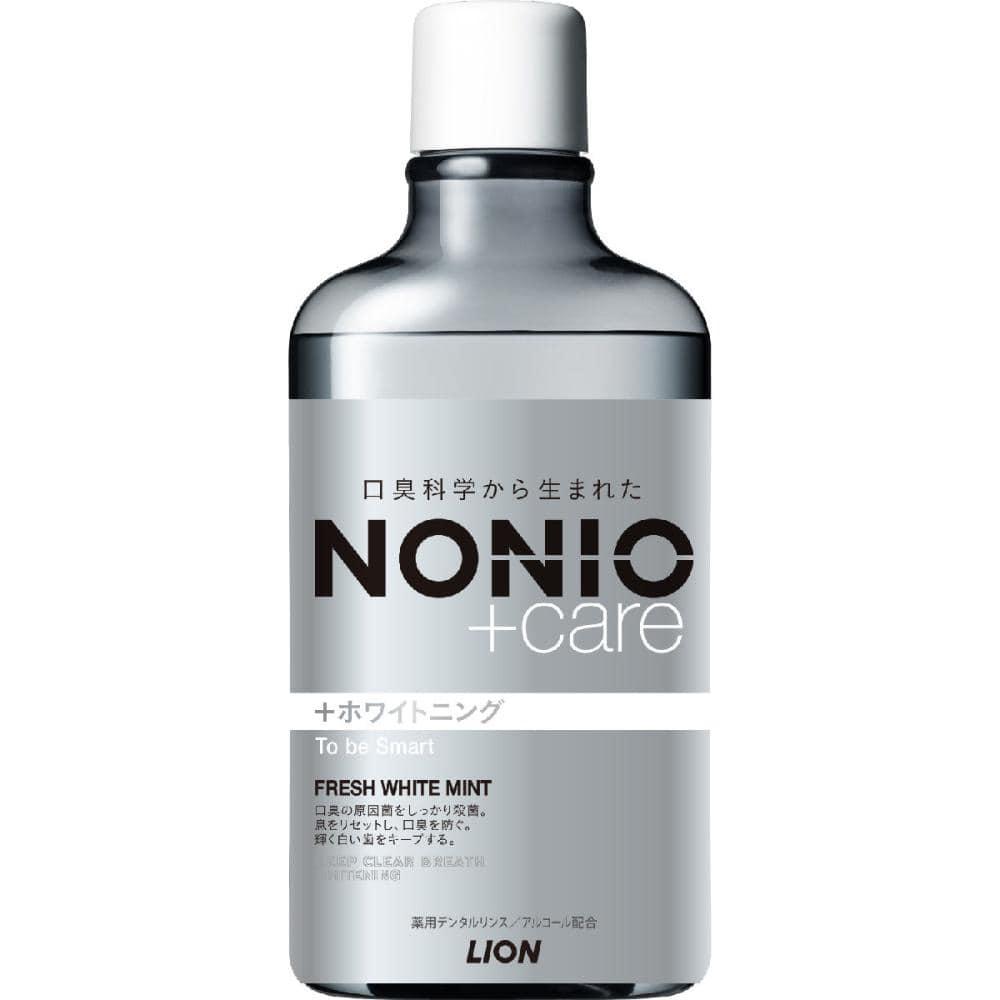 ライオン NONIO(ノニオ) +ホワイトニング デンタルリンス 600ml