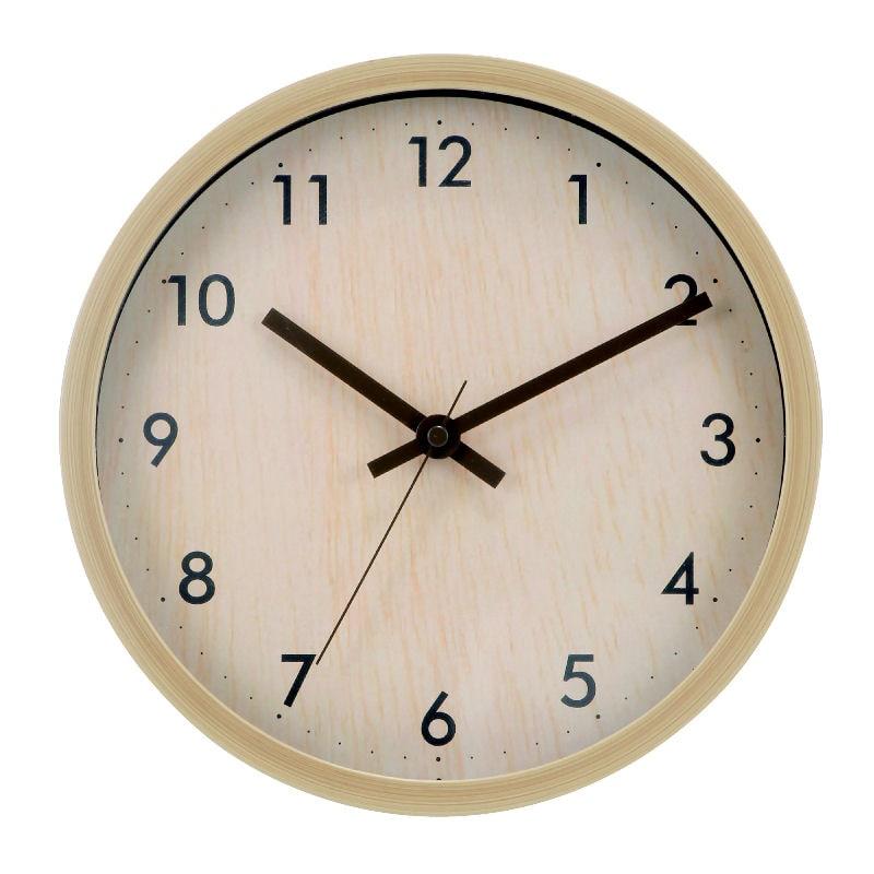掛け時計 ナチュラル ST1-NANA-25
