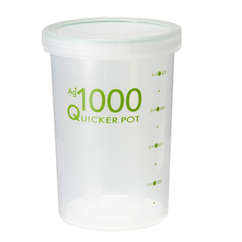 トンボ クイッカーポット 密閉 抗菌 1000ml NF-1000