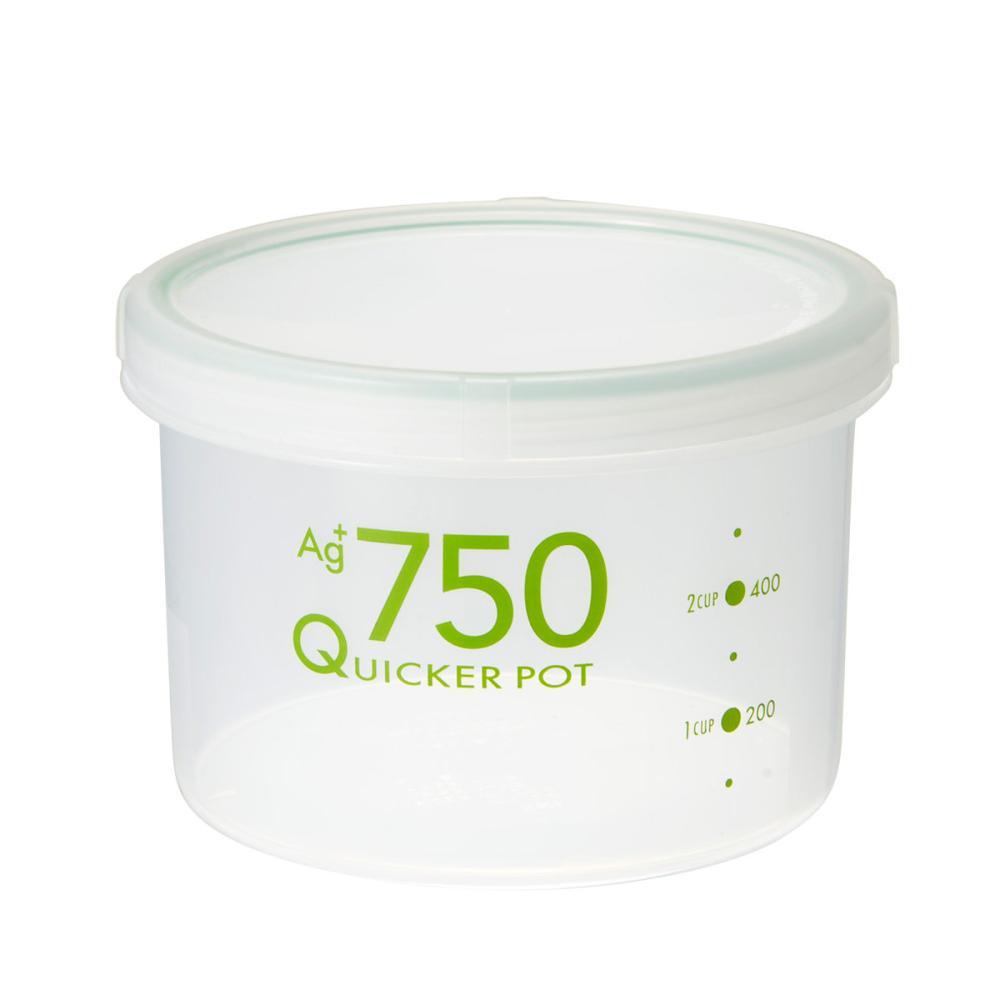 トンボ クイッカーポット 密閉 抗菌 700ml NA-750