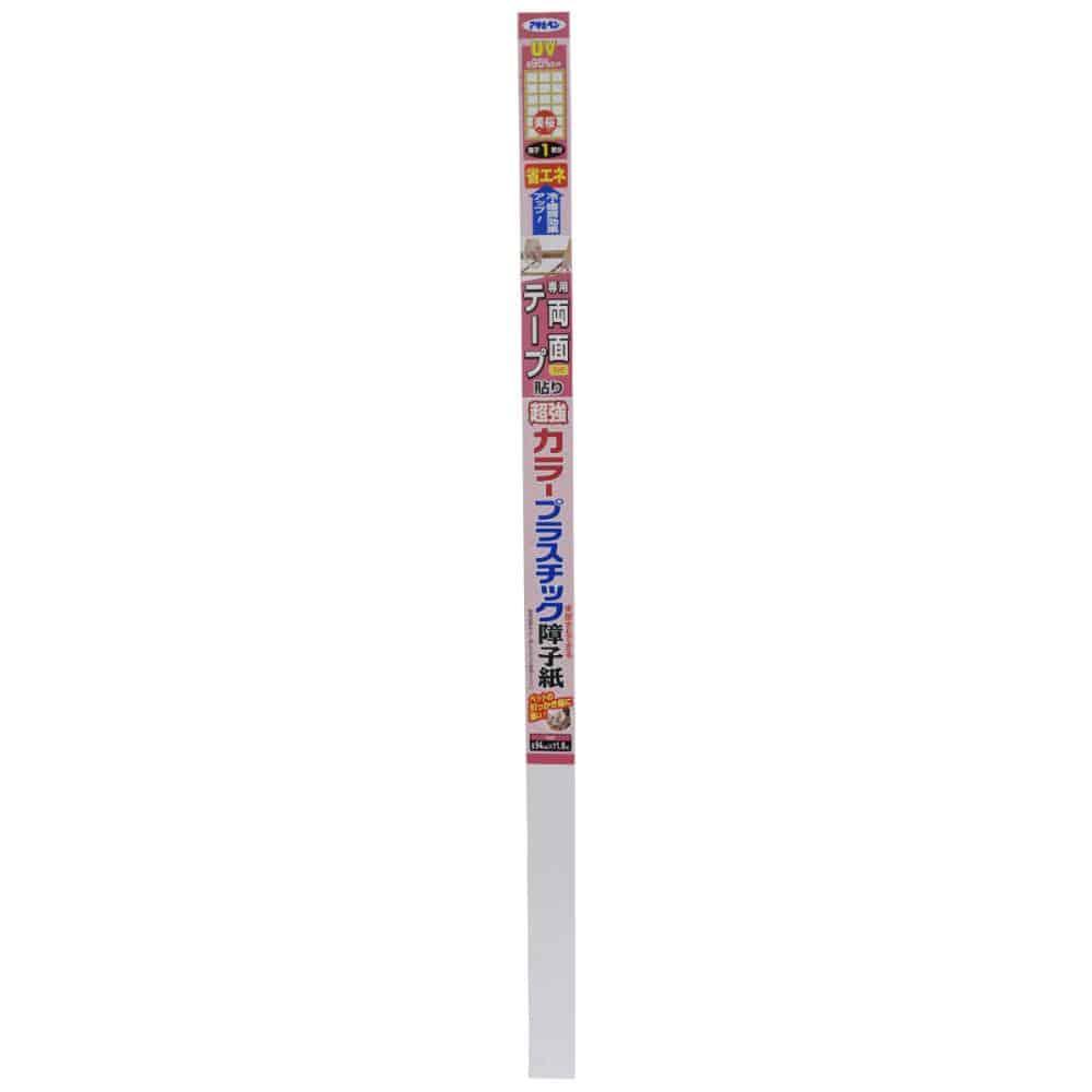 アサヒペン 超強カラープラスチック障子紙 94×1.8m 各種