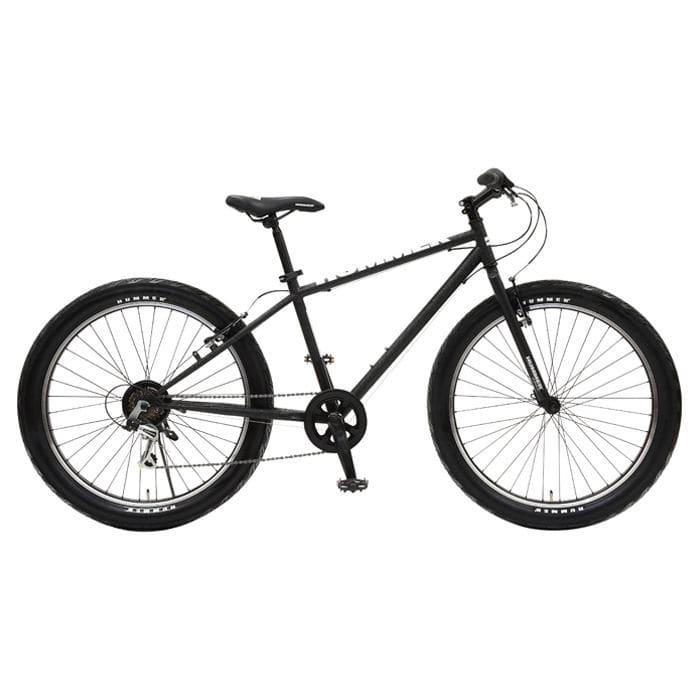 ハマー マウンテンバイク 26インチ 外装6段 ウェザリングブラック TANK3.0