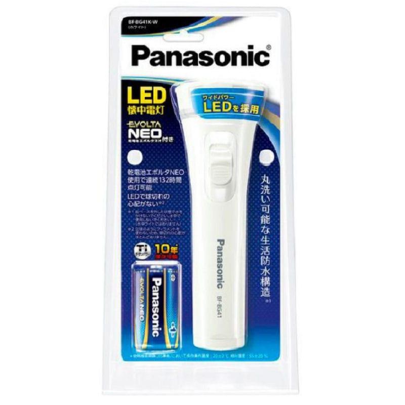 パナソニック 乾電池エボルタNEO付き LED懐中電灯