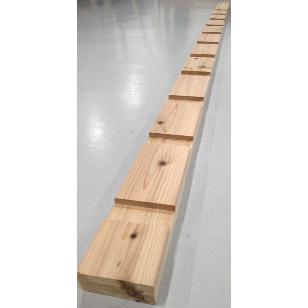 2×4材溝付き支柱 長さ約2440mm