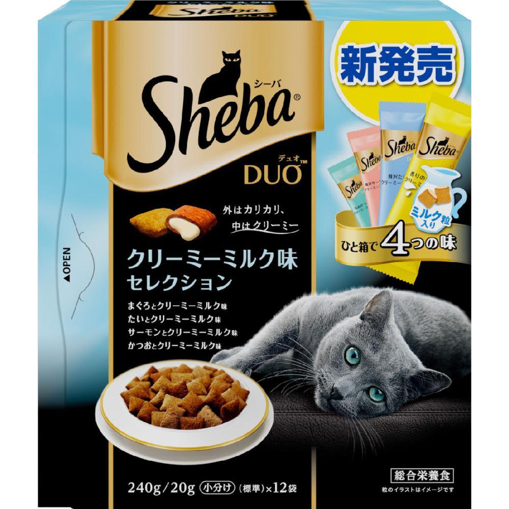 マース シーバ デュオ クリーミーミルク味セレクション 240g