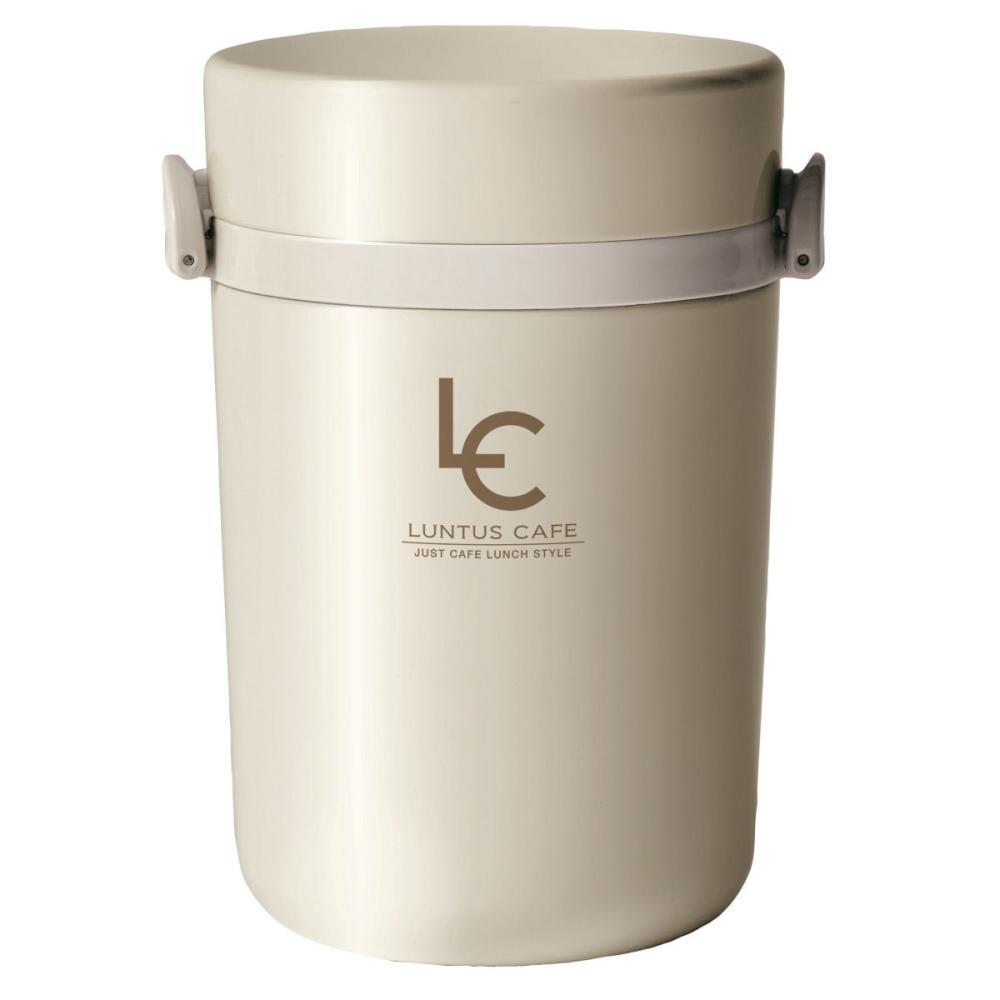アスベル ランタス 保温ランチ スープ容器付 700ml アイボリー HLB-B700