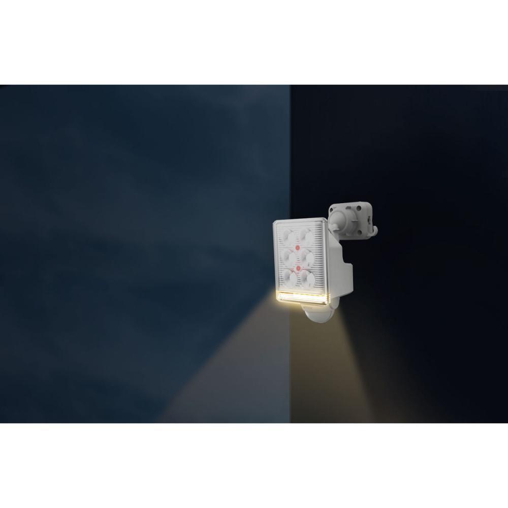 ムサシ フリーアームミニ1灯式LEDセンサーライト 9W LED-AC1009