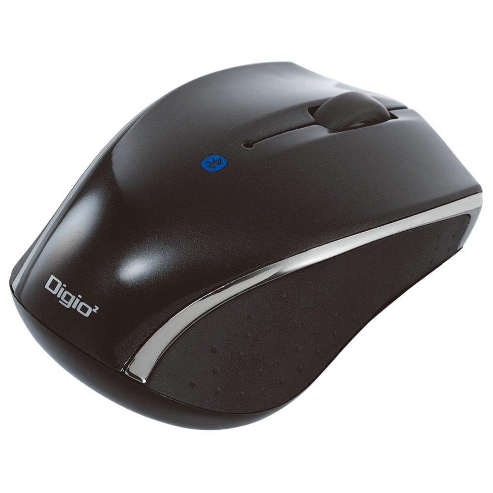 ナカバヤシ 小型Bluetooth3ボタンBlueLEDマウス ブラック MUS-BKT99BK