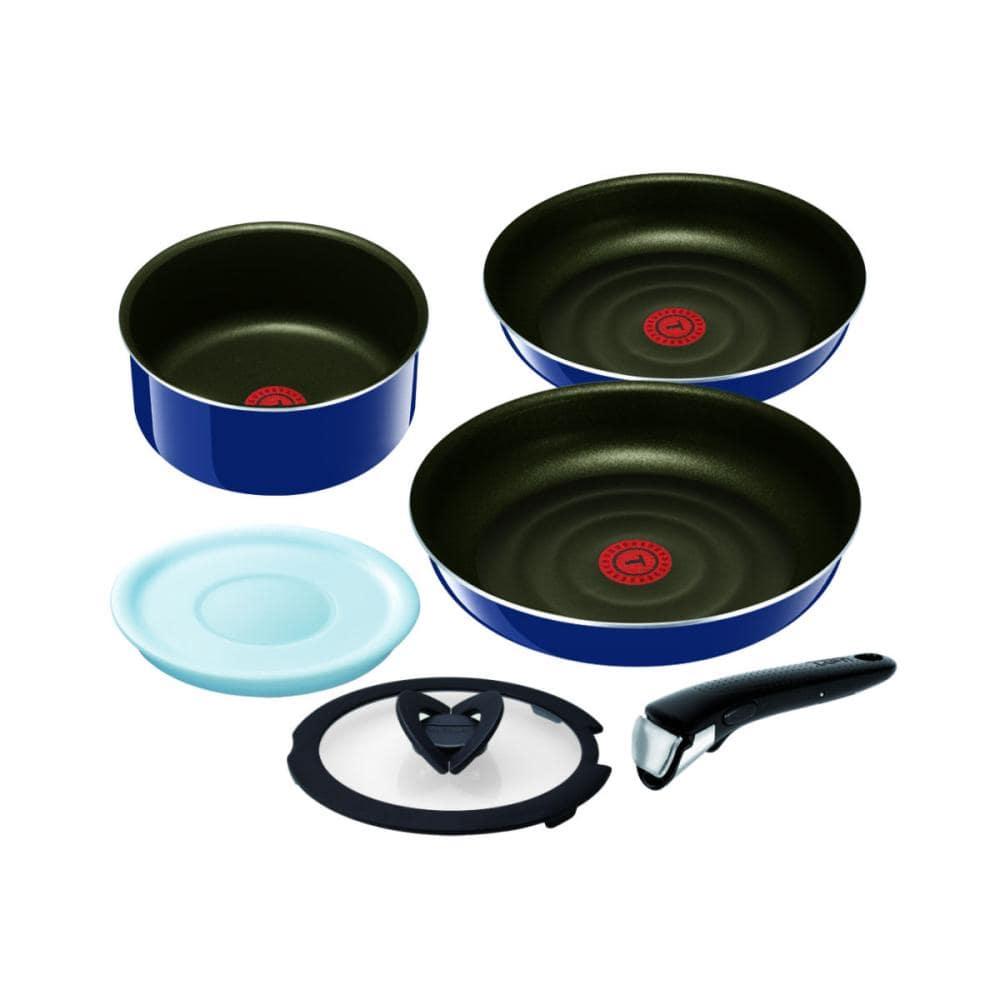 ティファール 鍋 フライパン6点セット インジニオ・ネオ グランブルー・プレミア セット6 L61490
