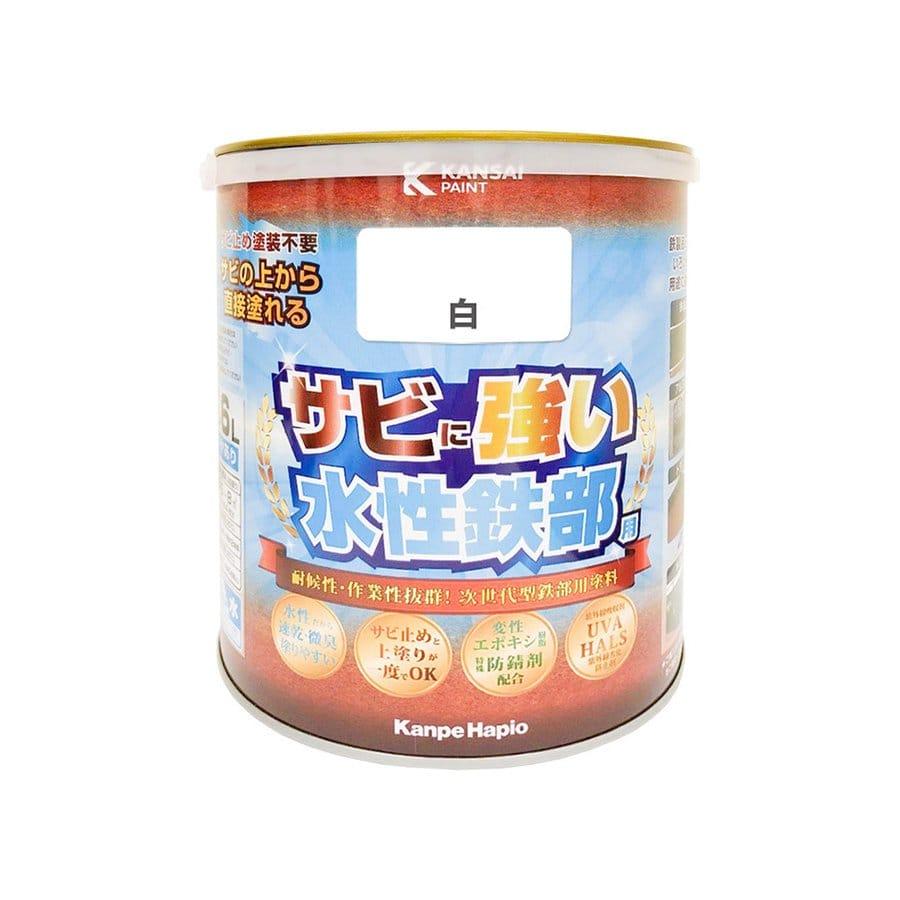 カンペハピオ 水性鉄部用 白 1.6L