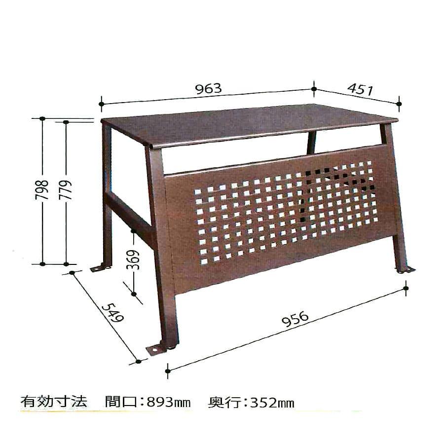室外機カバー(高さ80cm) SC-95S