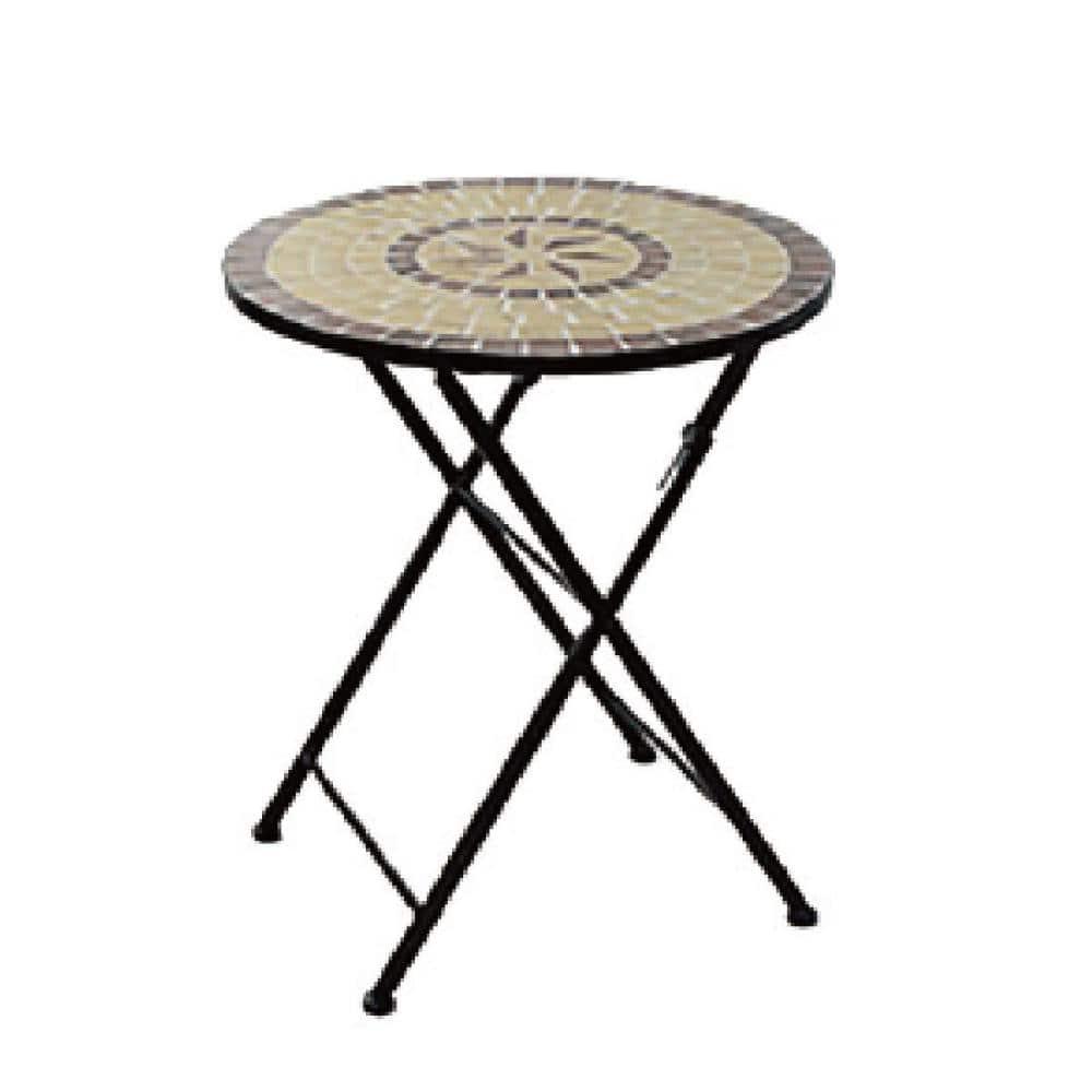 モザイクガーデン テーブル 61×71cm