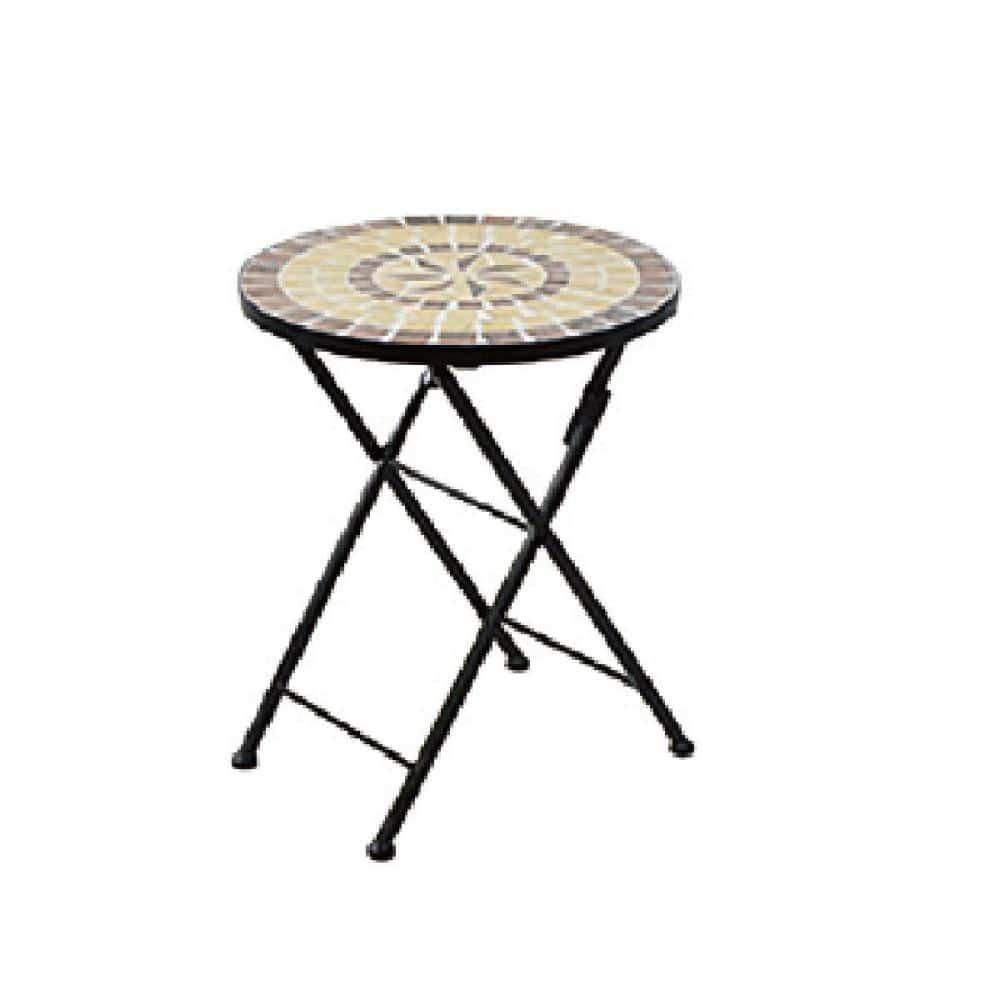 モザイクガーデン ローテーブル 41×54cm