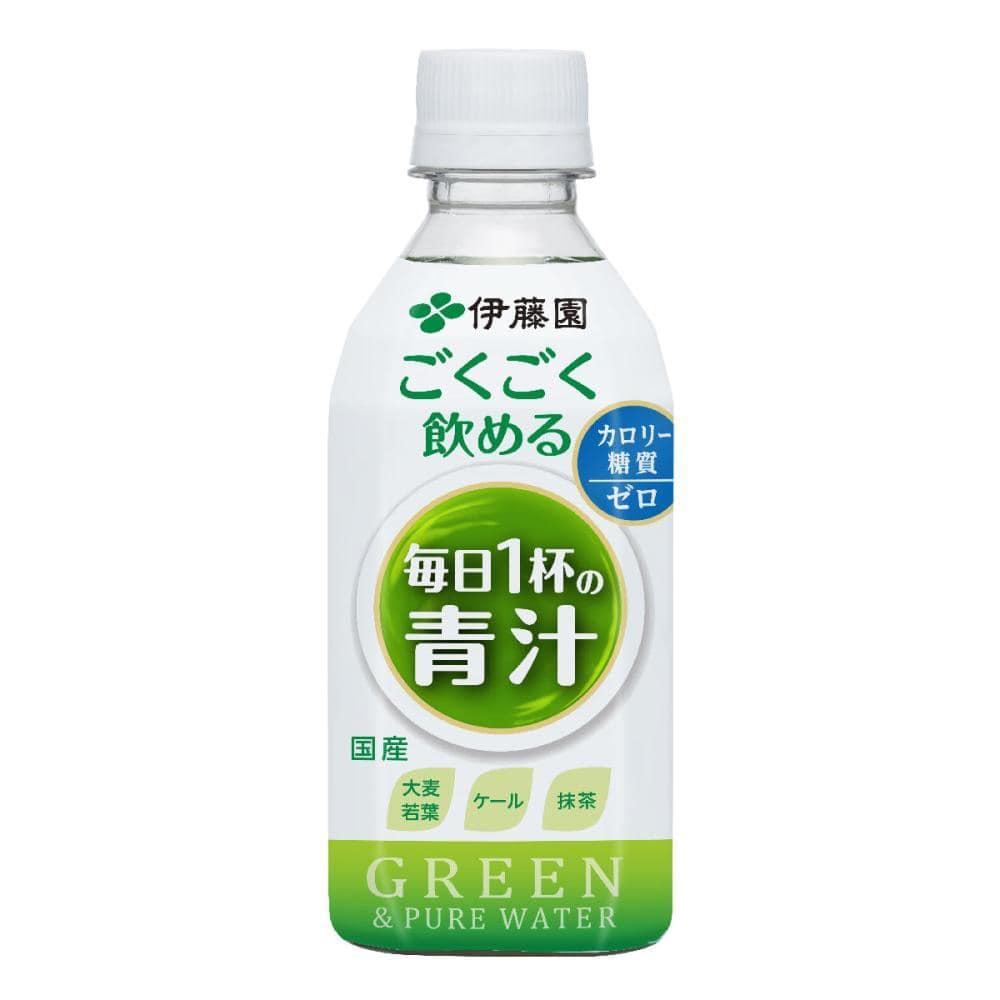 伊藤園 ごくごく飲める 毎日1杯の青汁 PET 350g