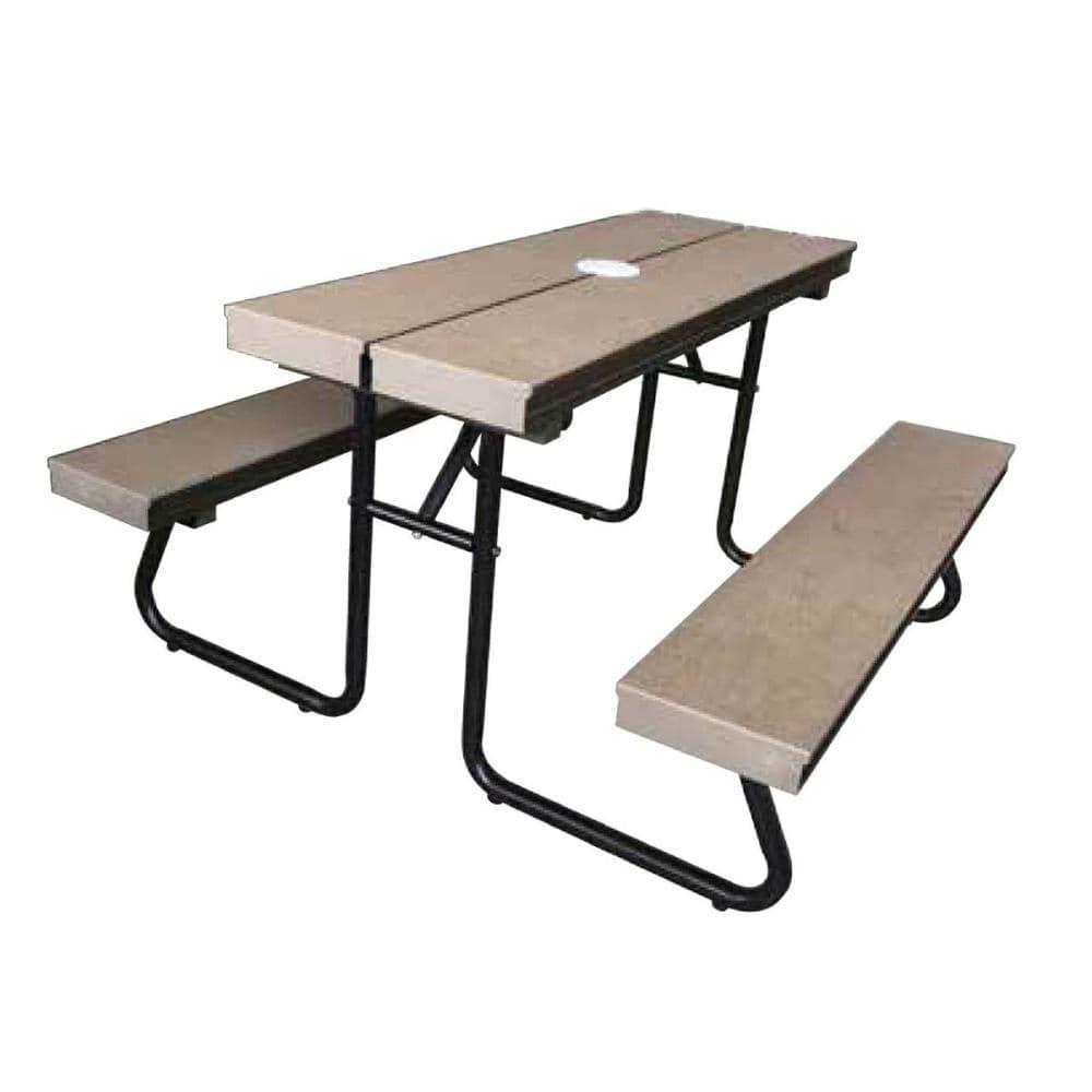 人工木子供用ベンチテーブル