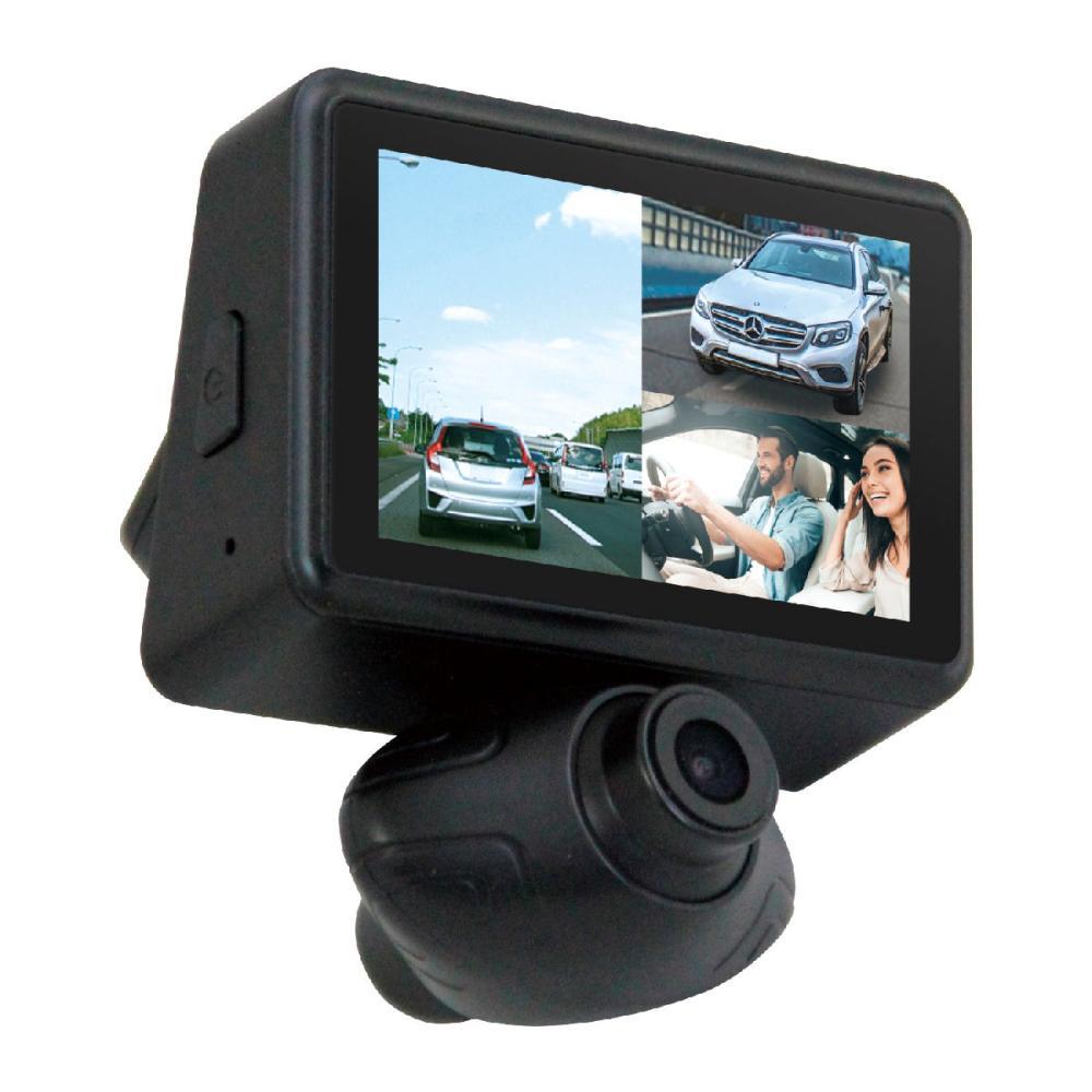 カイホウジャパン トリプル録画対応 3カメラドライブレコーダー KH-DR3200