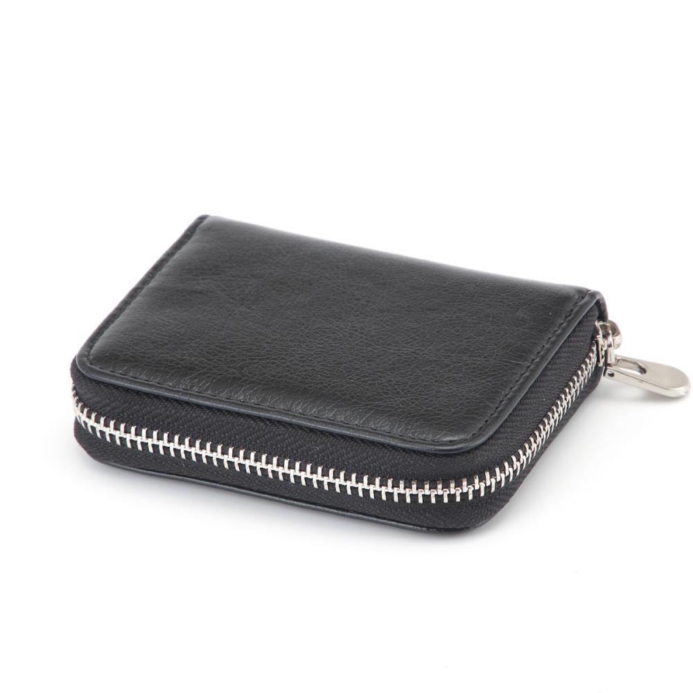 L'CREST(ルクレスト) コンパクト財布 ブラック