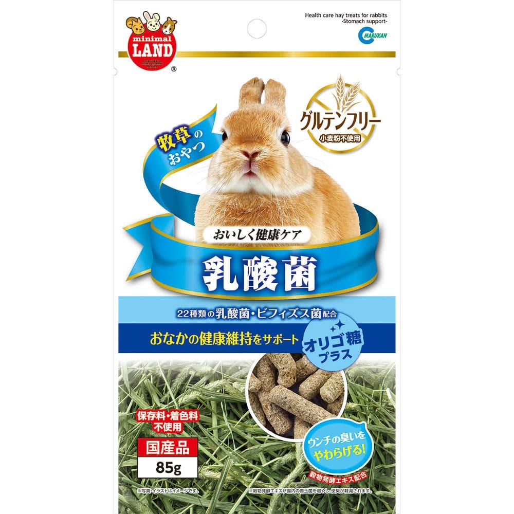 マルカン 牧草のおやつ おいしく健康ケア 乳酸菌 85g