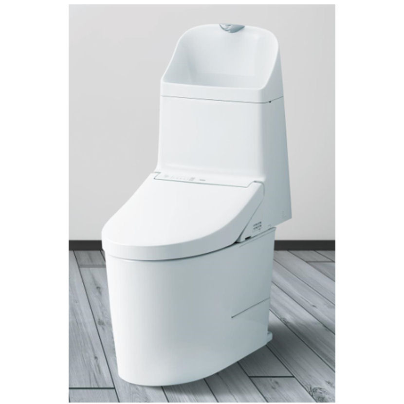 TOTO 一体形タンク式トイレ GG800-2 ホワイト CES9325M#NW1