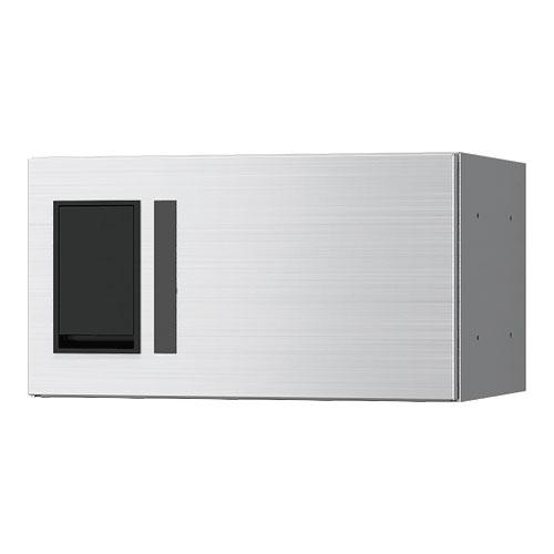 宅配ボックス プチ宅360機械式 H200 捺印無 ヘアーライン KS-TLP36R2A-S